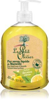 Le Petit Olivier Verbena & Lemon рідке мило