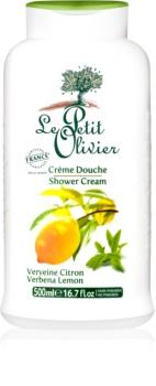 Le Petit Olivier Verbena & Lemon krema za prhanje