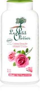 Le Petit Olivier Rose Shower Cream