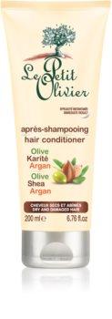 Le Petit Olivier Olive, Shea & Argan Conditioner für trockenes und beschädigtes Haar
