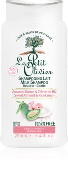 Le Petit Olivier Sweet Almond & Rice Cream Smoothing Shampoo for Normal Hair