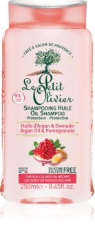 Le Petit Olivier Argan Oil & Pomegranate Protective Shampoo For Colored Hair