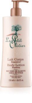 Le Petit Olivier Shea Butter loțiune de corp ultrahidratantă