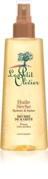 Le Petit Olivier Shea Butter suho olje za lase in telo