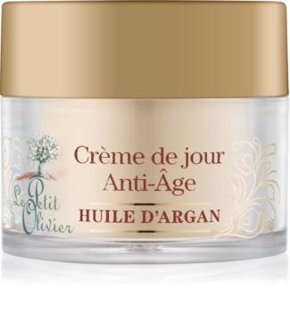 Le Petit Olivier Argan Oil dnevna krema proti gubam