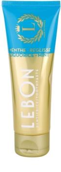 Lebon Menthe - Reglisse dentífrico