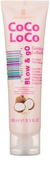 Lee Stafford CoCo LoCo lait à l'huile de noix de coco pour protéger les cheveux contre la chaleur