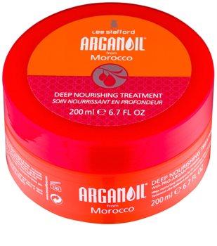 Lee Stafford Argan Oil from Morocco Maske mit ernährender Wirkung für glatte Haare