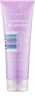 Lee Stafford Bleach Blondes šampón pre všetky typy blond vlasov