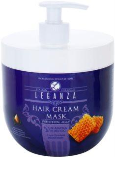 Leganza Hair Care máscara cremosa com geleia real