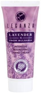 Leganza Lavender crema idratante intensa per le mani