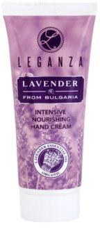 Leganza Lavender crema intens hidratanta de maini