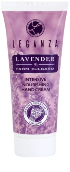 Leganza Lavender creme intensivo hidratante para mãos