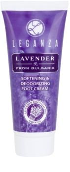 Leganza Lavender crema emolliente per i piedi