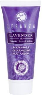 Leganza Lavender finomító krém lábakra