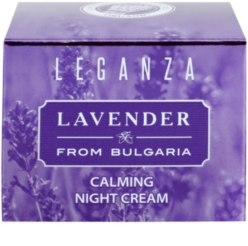 Leganza Lavender creme calmante de noite