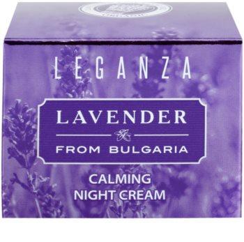 Leganza Lavender zklidňující noční krém