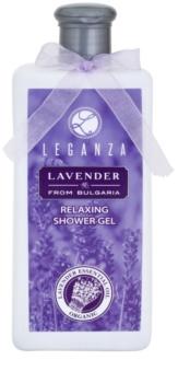 Leganza Lavender gel de ducha relajante