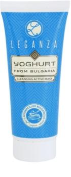 Leganza Yoghurt aktívna čistiaca maska