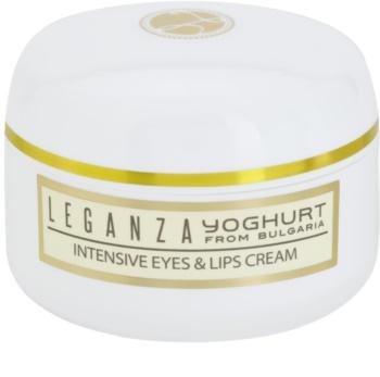 Leganza Yoghurt intenzívny krém na očné okolie a pery