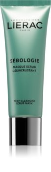 Lierac Sébologie Deep Cleansing Scrub Mask For Skin With Imperfections
