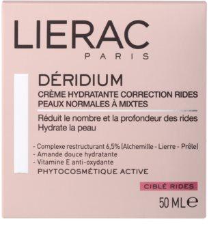 Lierac Deridium crema de día y noche hidratante con efecto antiarrugas para pieles normales y mixtas