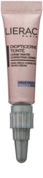 Lierac Diopti crema con color para contorno de ojos antiojeras