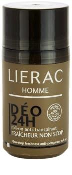 Lierac Homme antitranspirantes para homens