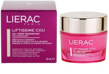 Lierac Liftissime Gel-Creme zur Erneuerung der Hautdichte für Hals und Dekolleté