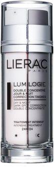 Lierac Lumilogie dvofazni posvetlitveni koncentrat za dan in noč proti pigmentnim madežem