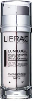 Lierac Lumilogie dvojfázový rozjasňujúci koncentrát na deň aj noc proti pigmentovým škvrnám