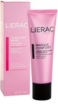 Lierac Masques & Gommages Feuchtigkeitsspendende Maske mit ernährender Wirkung für trockene Haut