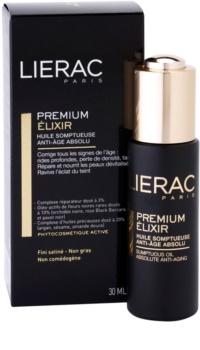 Lierac Premium eliksir z luksuznimi negovalnimi olji proti staranju kože