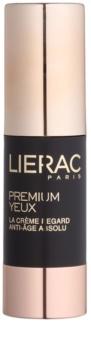 Lierac Premium očný krém pre komplexnú starostlivosť proti vráskam, opuchom a tmavým kruhom