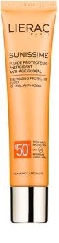Lierac Sunissime energiebrengende beschermingsfluid SPF 50+