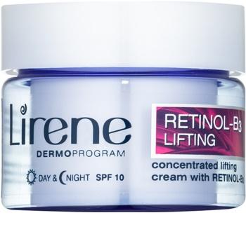 Lirene 4D crema con efecto lifting con retinol