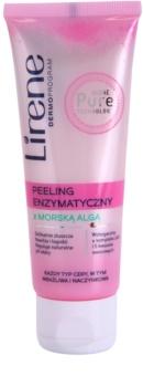 Lirene Algae Pure peeling enzimático para a pele sensível com tendência a aparecer com vermelhidão