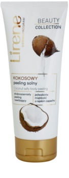 Lirene Beauty Collection Coconut telový peeling so soľou