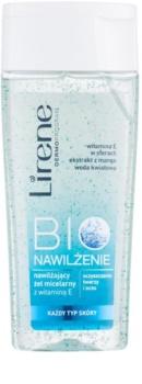 Lirene Bio Hydration čistiaci micelárny gél na tvár a oči