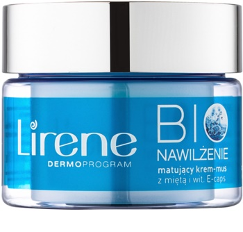 Lirene Bio Hydration hydratační krém s matujícím efektem pro mastnou a smíšenou pleť