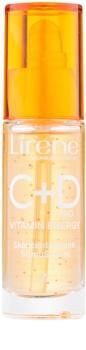 Lirene C+D Pro Vitamin Energy serum za osvetljevanje z gladilnim učinkom