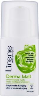 Lirene Derma Matt crema matificante hidratante SPF 15