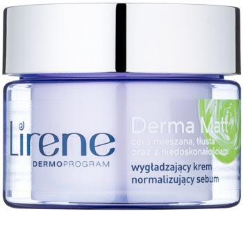 Lirene Derma Matt crema notte normalizzante effetto lisciante