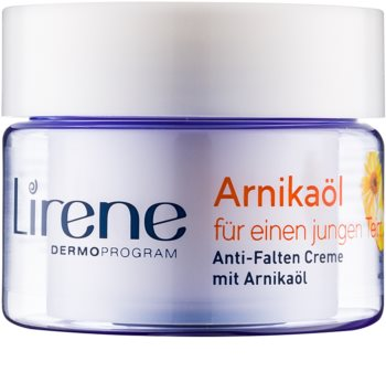 Lirene Essential Oils Arnica creme suavizante  antirrugas