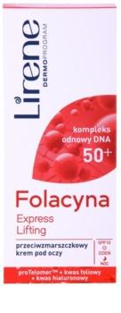 Lirene Folacyna 50+ Lifting-Augencreme SPF 10