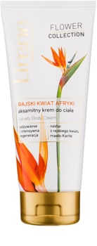 Lirene Flower Collection African Bird of Paradise Velvet Body Cream