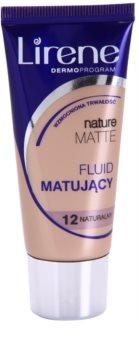 Lirene Nature Matte matující fluidní make-up pro dlouhotrvající efekt