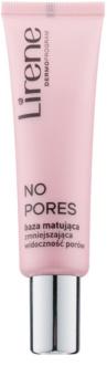 Lirene No Pores fond de ten lichid cu efect matifiant pentru netezirea pielii si inchiderea porilor