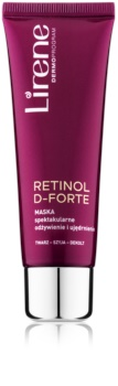 Lirene Retinol D-Forte Nährende und straffende Maske für Gesicht, Hals und Dekolleté