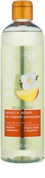 Lirene Shower Oil gel de banho com óleo de manga